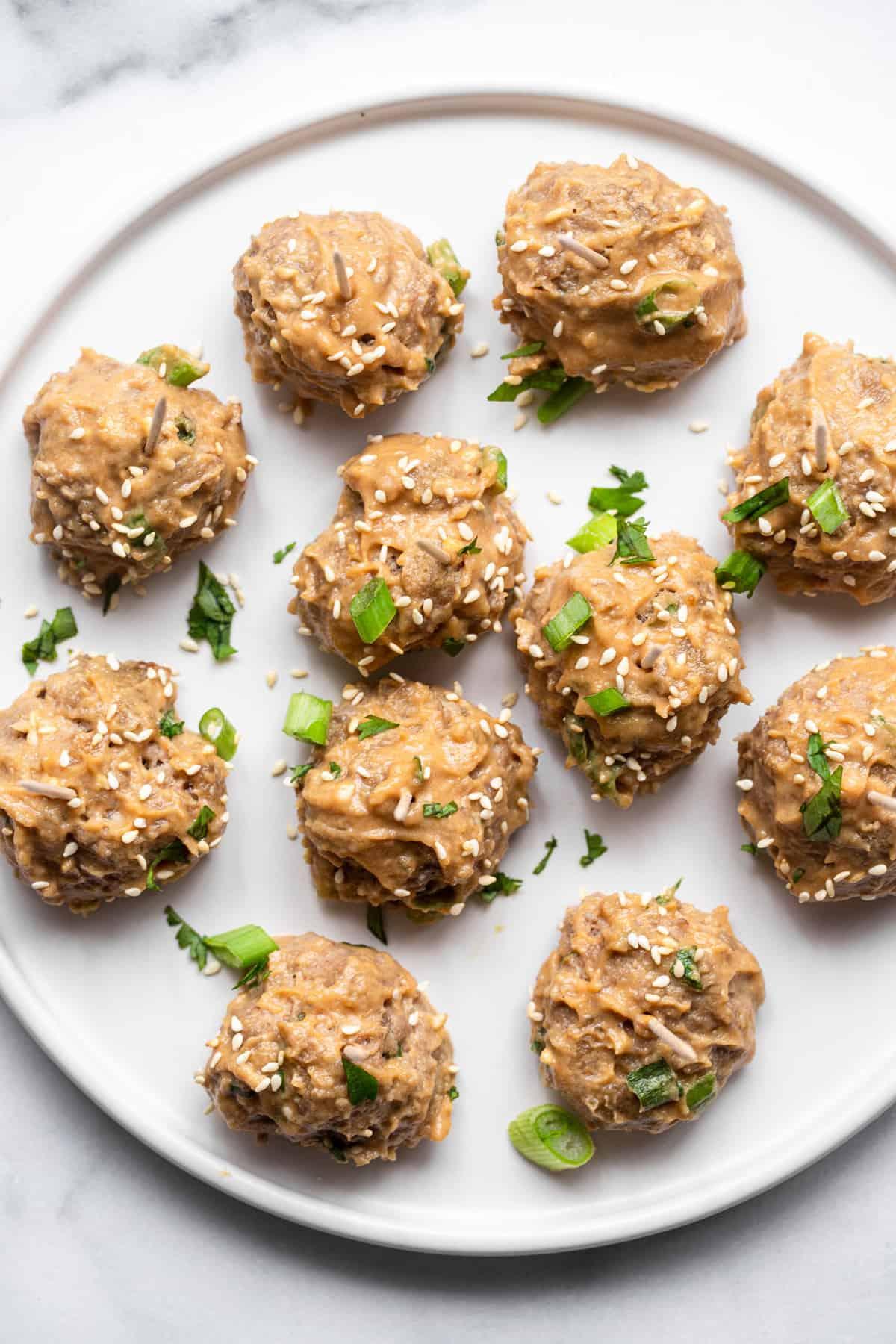 Asian Turkey Meatballs