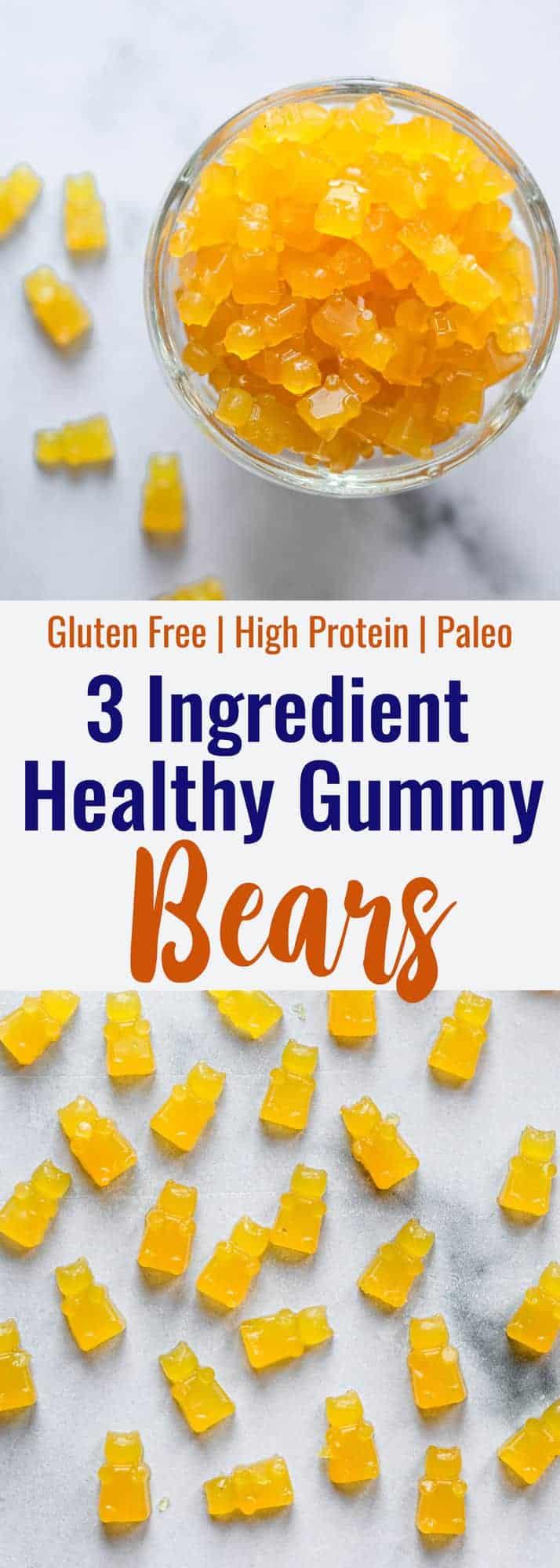 healthy gummies collage photo