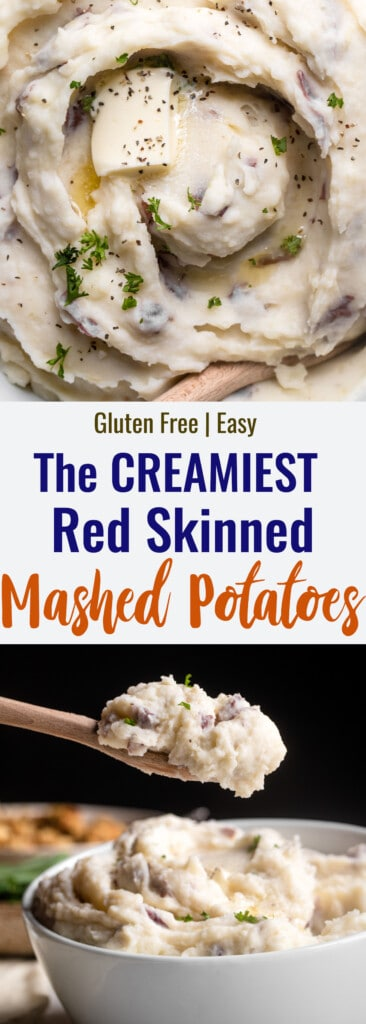 red skin mashed potatoes collage photo