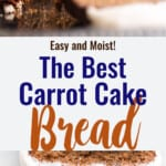 Carrot Cake Bread collage photo