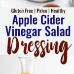 Apple Cider Vinegar Dressing collage photo