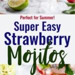 Strawberry Mojito collage photo