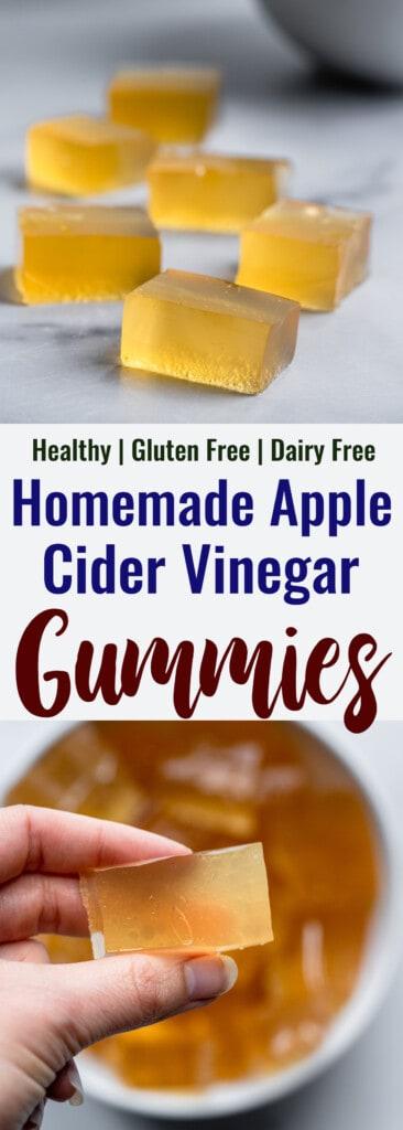 Apple Cider Vinegar Gummies collage photo