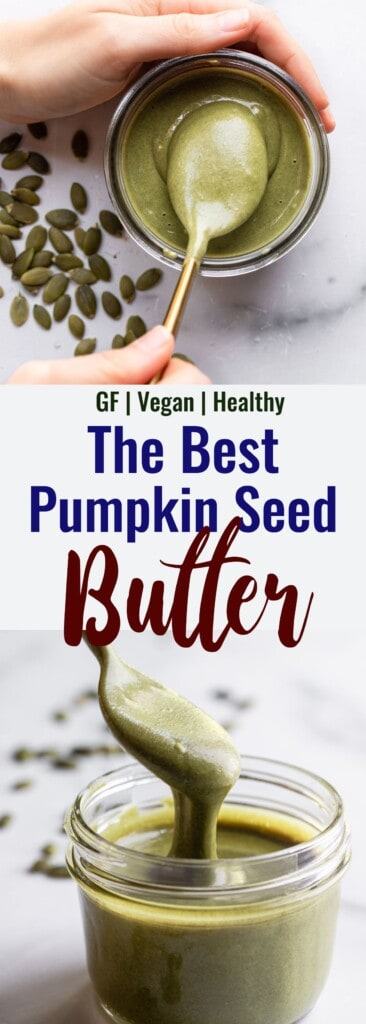 Pumpkin Seed Butter collage photo