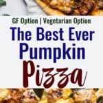Pumpkin Pizza collage photo